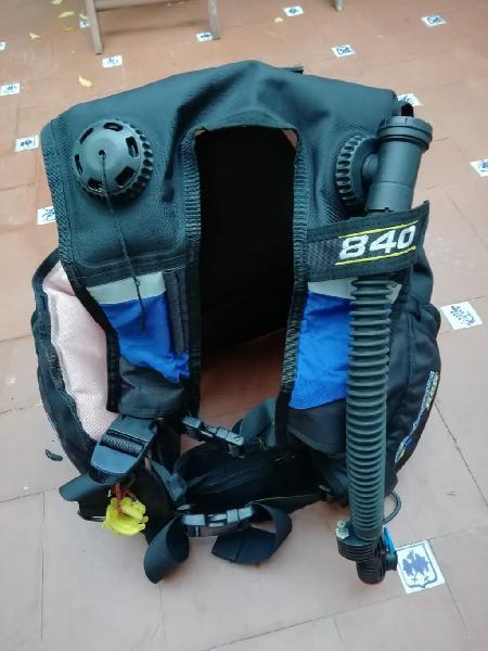 Jacket buceo subacqua 840 - tallas: s-l