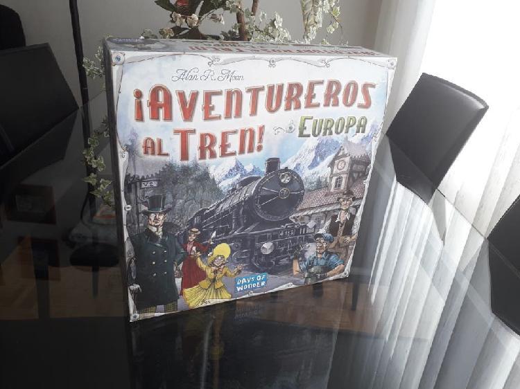 Juego mesa aventureros al tren europa