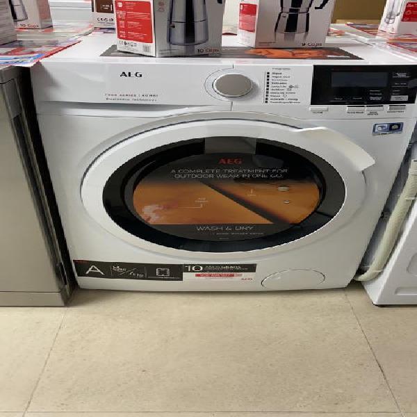 Lavadora secadora aeg l7wbg841 8/4kg 16