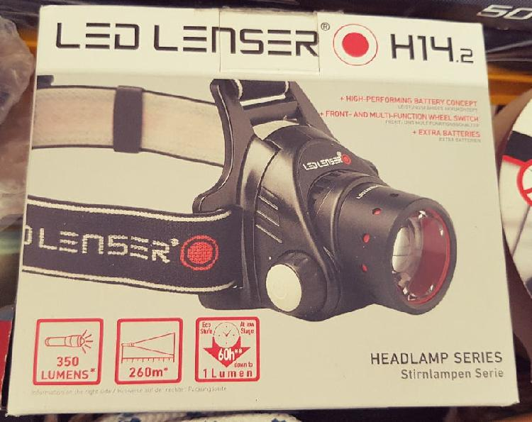 Led lenser h14.2 frontal, linterna