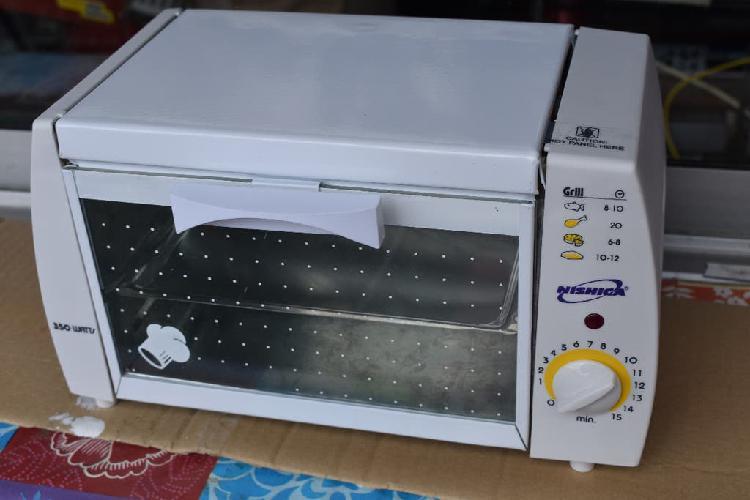 Mini horno eléctrico de 350 w a estrenar