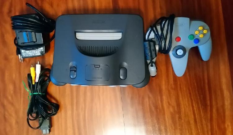 Nintendo n64 con dos juegos