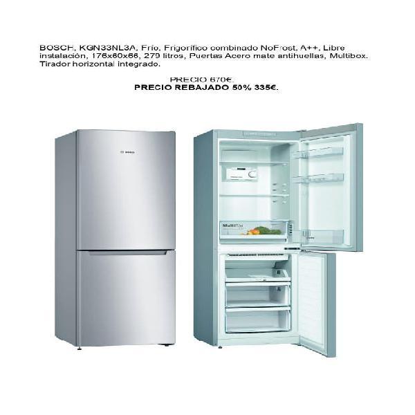 Nevera frigorífico combi bosch a++