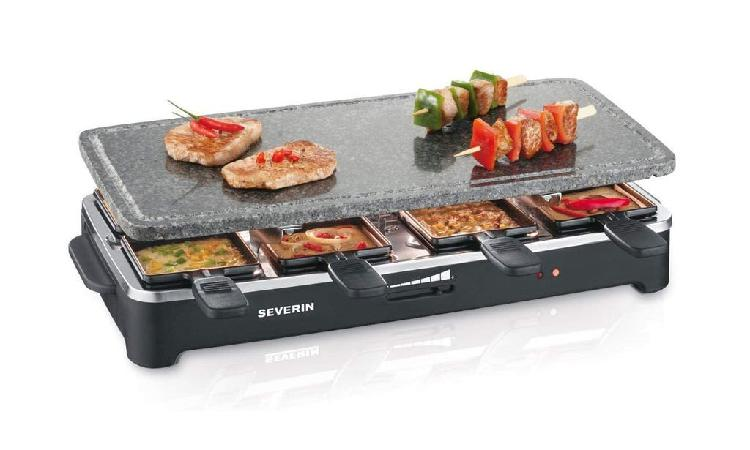 Raclette grill piedra severin rg 2343 1500w