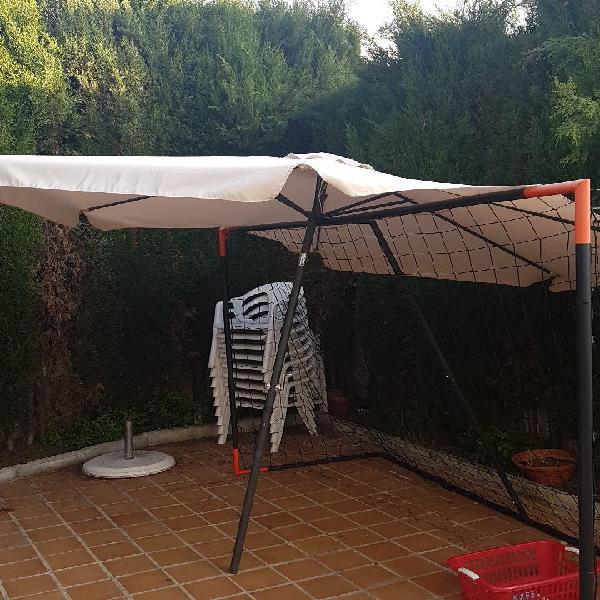 Sombrilla patio jardín