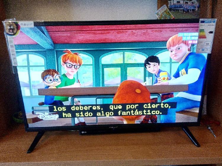 """Television plasma nevir 32"""" - nueva"""