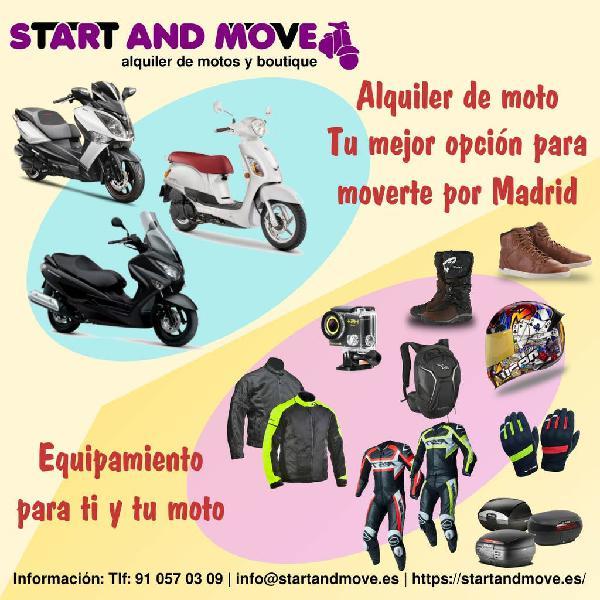 Alquiler de motos y boutique