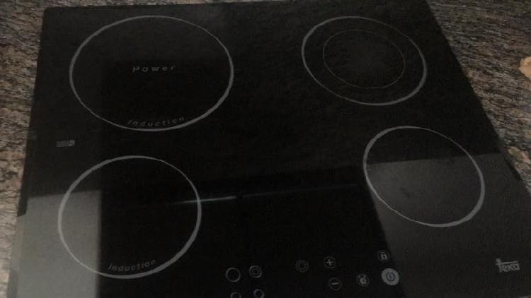 Placa inducción vetrocerramica teka
