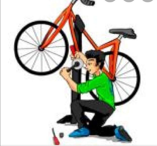 Se reparan bicicletas