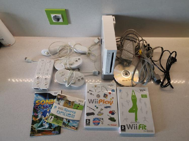 Wii + wiifit