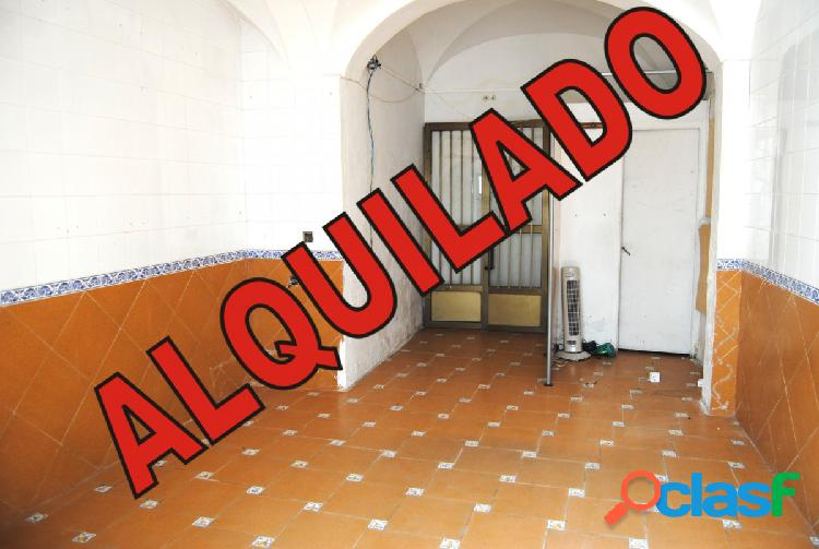 Alquiler local comercial muy céntrico