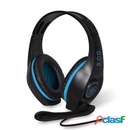 Auriculares con microfono spirit of gamer elite-h5 - drivers 40mm - co