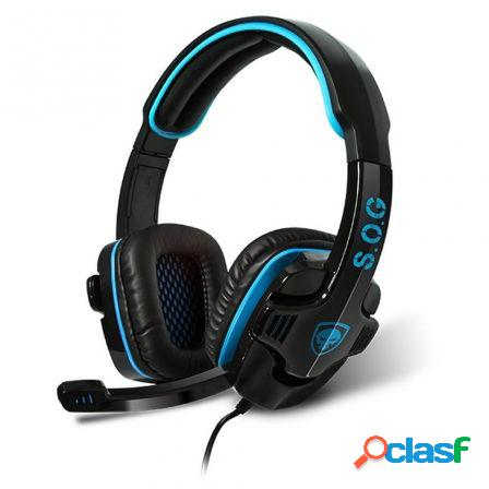 Auriculares con microfono spirit of gamer xpert-h2 - drivers 40mm - co
