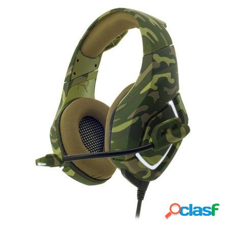 Auriculares con microfono spirit of gamer elite-h50 - drivers 40mm - c