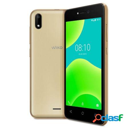 "Smartphone movil wiko y50 gold - 5""/12.7cm - camara 5mp/5mp - qc 1.3gh"