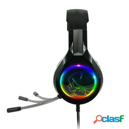Auriculares con microfono spirit of gamer pro-h8 rgb - drivers 50mm -