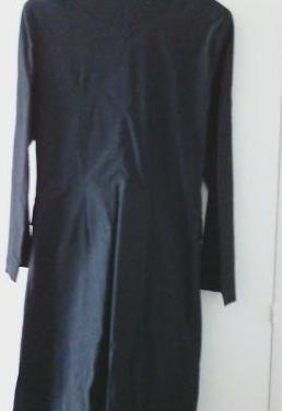 Abrigo ligero, largo, marca francesa sinequanone