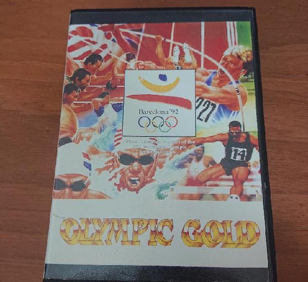 Barcelona'92 olympic gold megadrive japones sin manual