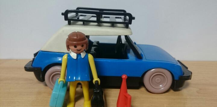 Coche azul 3210 famobil playmobil