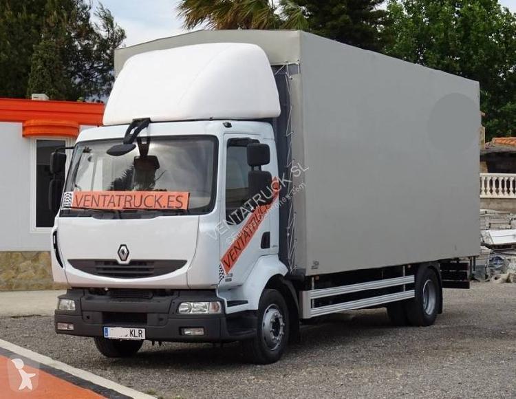 Camión Renault caja abierta Midlum 220.13 4x2 Euro 4 usado