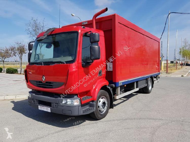Camión Renault furgón transporte de bebidas Midlum 220.16
