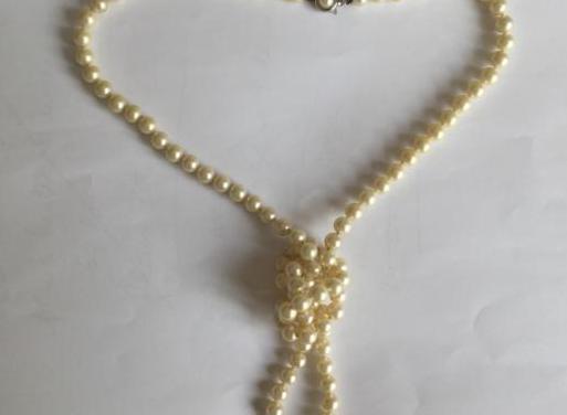 Collar perlas vintage años 60