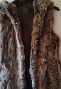 Corte ingles chaquetón piel sin man mujer