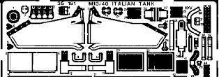 Eduard - m13/40 italian tank 1/35 35161