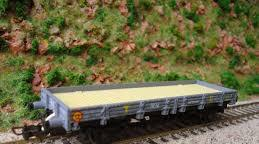 Electrotren - vagon plataforma renfe t.e. 1024
