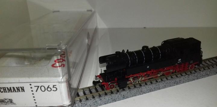 Fleischmann n locomotora vapor 7065 br 65 l45-24 (con compra