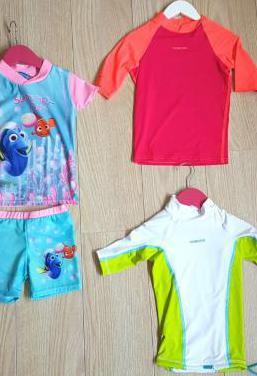 Ganga. 3 camisetas proteccion. t 3-4 años