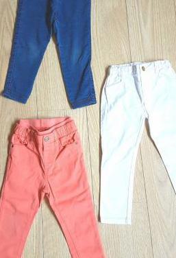Ganga. 3 pantalones. talla 2-3 a. perfectos