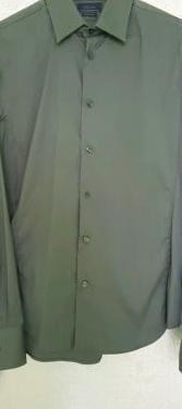 Ganga. camisa zara slim. talla m. nueva