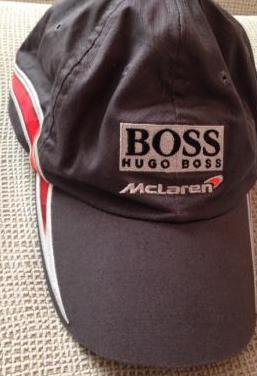 Gorra oficial hugo boss mclaren