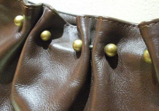 Hoss bolso de piel marrón chocolate
