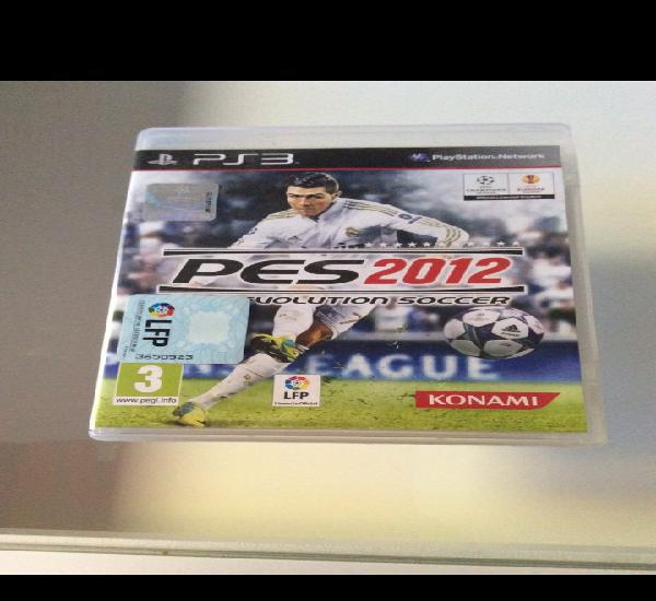 Play station 3 - pro evolution soccer 2012 - pes 2012