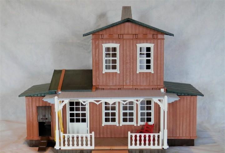 Playmobil casa del oeste, granja