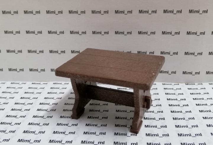 Playmobil mesa madera castillo medieval casa taberna