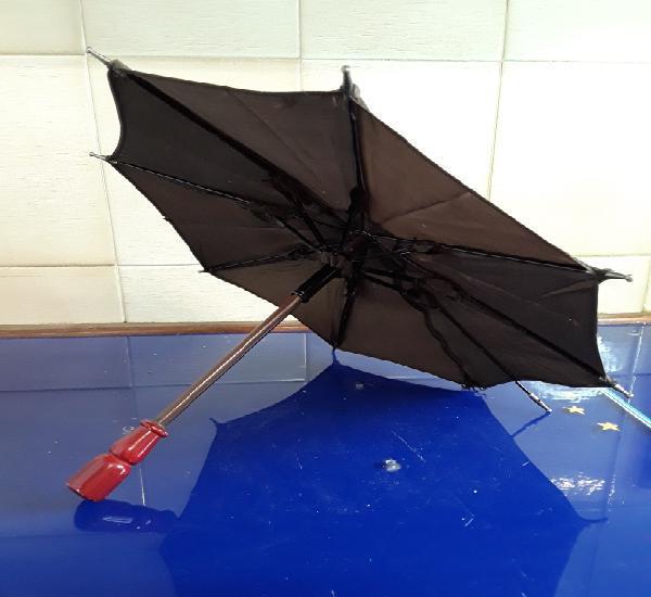 Precioso paraguas de la mariquita perez años 40