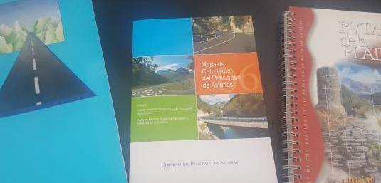 Ruta de la plata y mapa de asturias