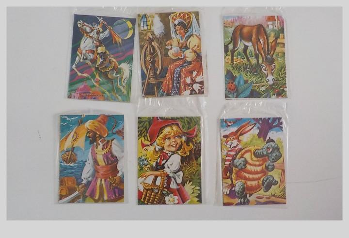 Seis puzzles maves.sin abrir.todos diferentes.año 1974