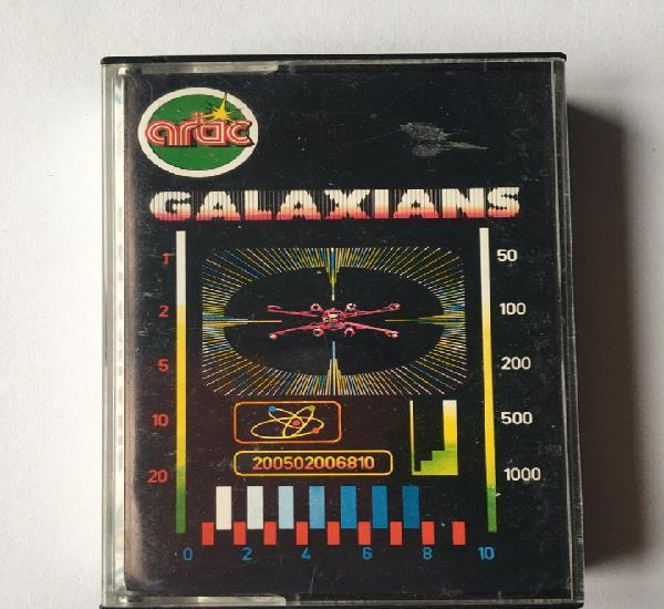 Spectrum- galaxians - video juego - artic - años 80