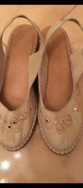 Sandalias de mujer talla 37 piel
