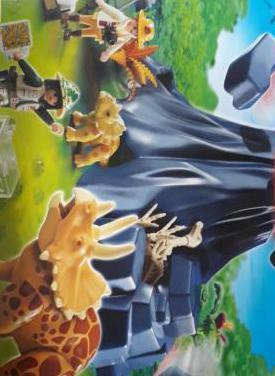 Triceratops con volcan playmobil 4170 nuevo