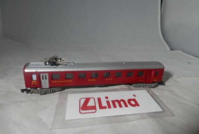 Vagón pasajeros de la sbb escala n de lima