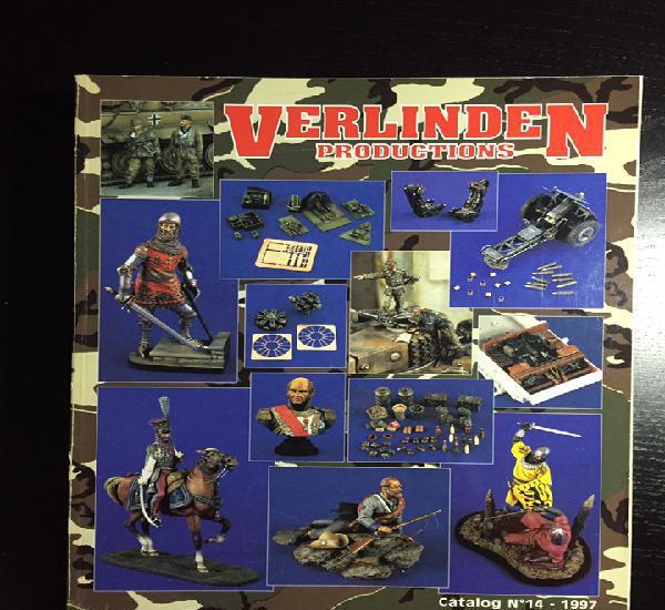 VERLINDEN Catalog N-14 1998 1:35 maqueta catálogo carro