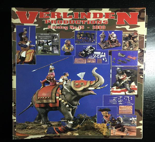 VERLINDEN Catalog N-15 1998 1:35 maqueta catálogo carro