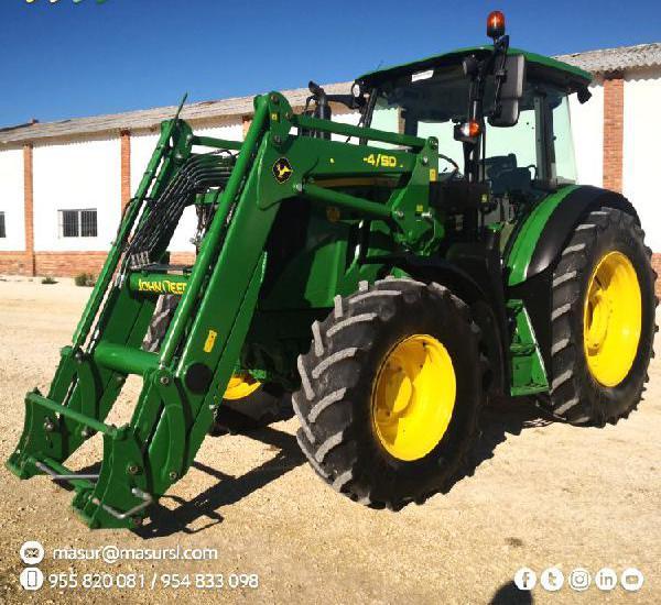 Venta de Tractor con pala John Deere 6115 MC en Sevilla