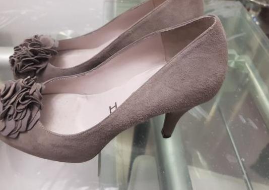 Zapatos ante gris talla 37 unisa