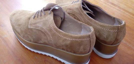 Zapatos de piel mujer nuevos